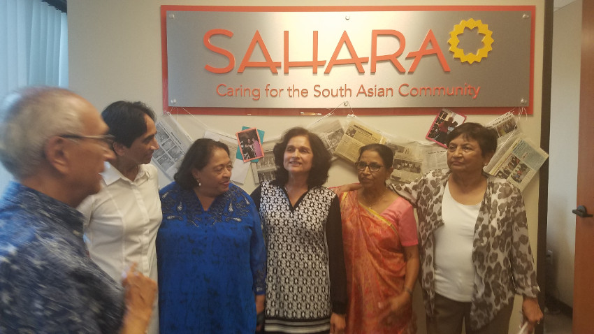 Sahara History social services assistance